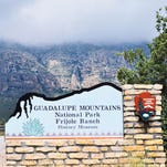 The entrance to Guadalupe Mountains National Park's Frijole Ranch is seen in this undated photo.