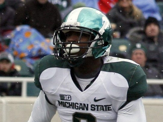 Former Michigan State and Detroit Renaissance defensive back Mylan Hicks, 23, died in a nightclub shooting in Calgary on Sept. 25.
