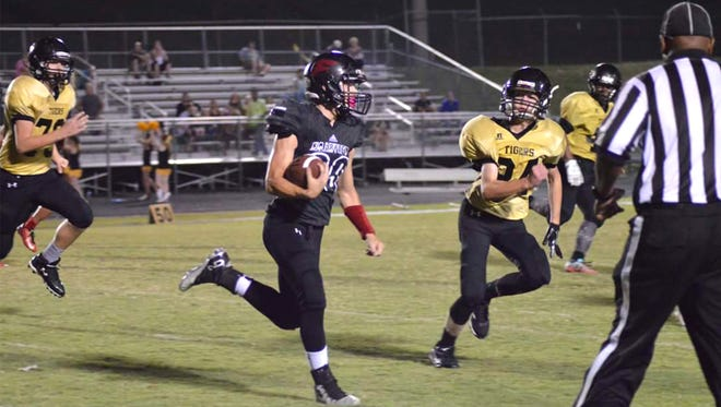 The Fairview Middle School Falcons soar to another big win over Charlotte on Homecoming Night.