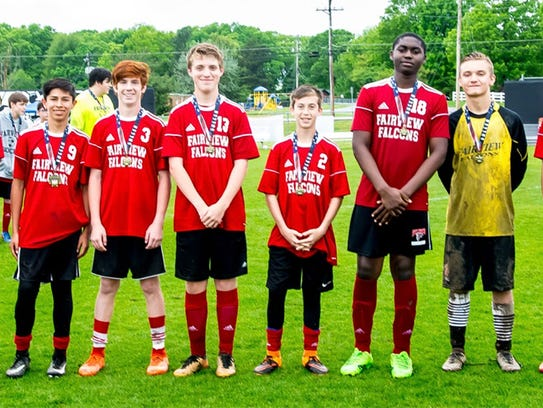 Fairview Middle School's All Conference and All Tournament