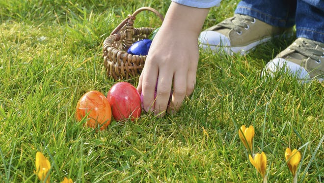 Catch an early Easter egg hunt at various locations this weekend.