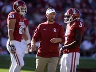 <p>No. 16: Lincoln Riley, Oklahoma offensive coordinator: $905,000: He received a $400,000 increase in basic pay after last season -- his first with the Sooners after coming from East Carolina, where his basic pay was $275,000 in 2014 and just over $150,000 in 2012.</p>
