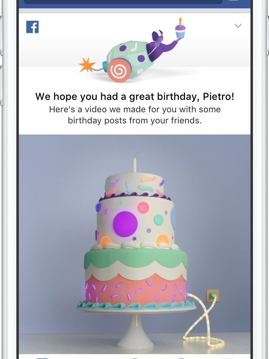 Super Facebook Wants To Celebrate Your Birthday With A Video Funny Birthday Cards Online Alyptdamsfinfo