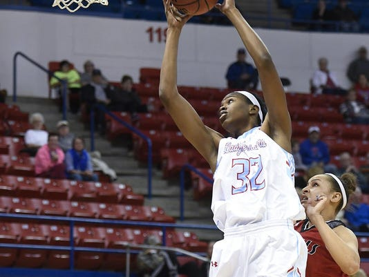 Lady Techsters Basketball vs Nicholls State