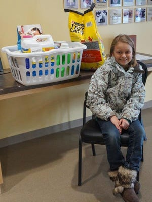 The Lincoln County Humane Society would like to extend their thanks to Chloe Belant of Merrill! Chloe recently celebrated her 10th birthday, and asked for donations for the animals at the shelter instead of presents for herself! Thank you, Chloe! The humane society greatly appreciates your generosity!