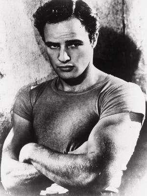 "Marlon Brando as Stanley Kowalski in ""A Streetcar Named Desire."""