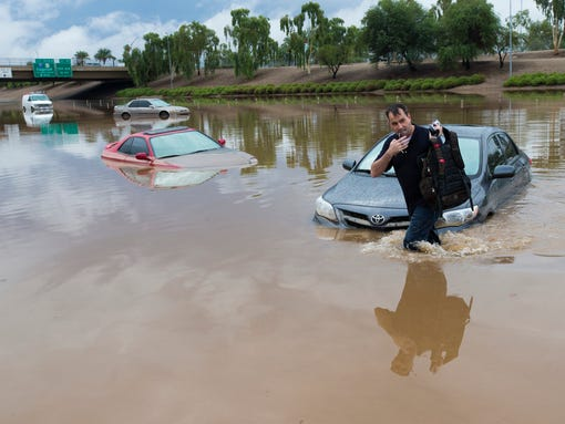 Record Rainfall Swamps Southwest