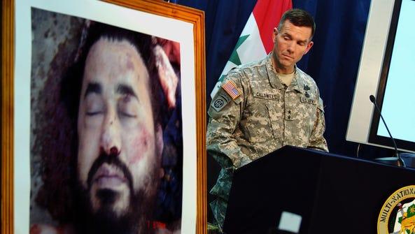 A U.S. military spokesman, Maj. General Bill Caldwell,