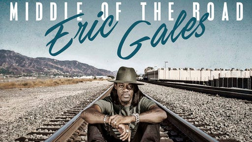 "This cover image released by Provogue/Mascot shows ""Middle of the Road,"" by Eric Gales."