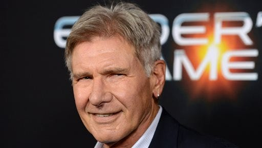 """Harrison Ford is recuperating after surgery to heal a broken leg suffered during production on """"Star Wars: Episode VII."""""""