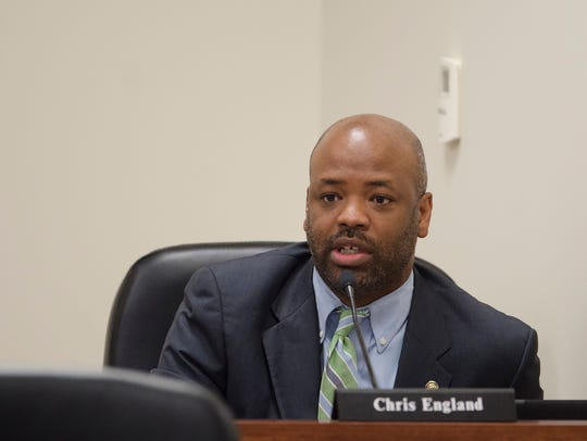 "Rep. Chris England, D-Tuscaloosa (seen here in 2017) thinks Medicaid expansion discussions have gotten ""traction."""