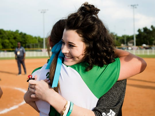 Though Alex Wilcox graduated from Brantley in 2017 and was a freshman at Mississippi State, Brantley players summoned her to the field after they won a state championship in 2018.