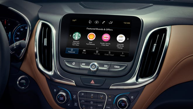 General Motors' Marketplace app on 2017 and later model GM vehicles allows customers to order food, find the closest gas station and make dinner and hotel reservations while driving. It now includes Yelp Reservations.