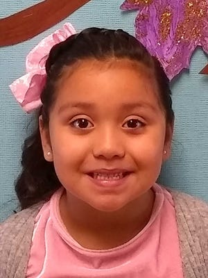 Vicky Santiago Martinez, Student of the Month, Nob Hill Early Childhood Center