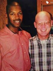 Bo Porter and Bobby Elliott together in 1999.