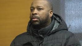 Ronald Hall during his Natick District Court arriagnment in January.