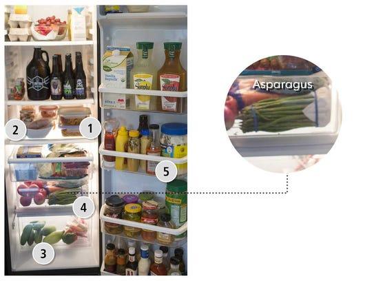 Dawn Ballantine's refrigerator