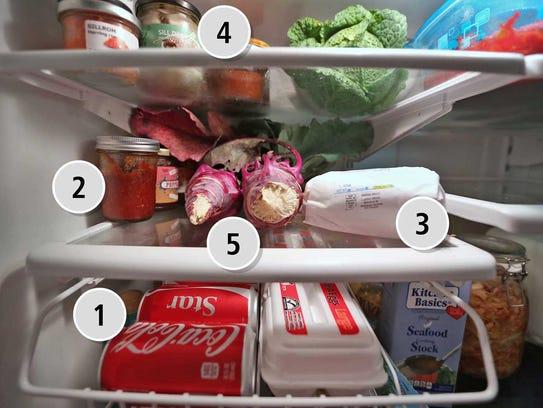 Richey Hatfield's refrigerator