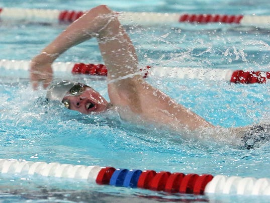 Boys Swimming: Kettle Moraine at Menomonee Falls