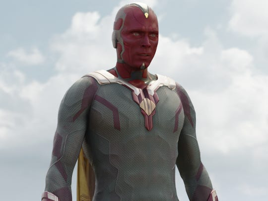 Vision (Paul Bettany) is still working out his place