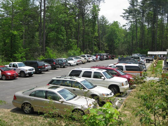 Gorges State Park in Transylvania County had a 48 percent increase in visitors in 2015, causing parking lots to fill often.