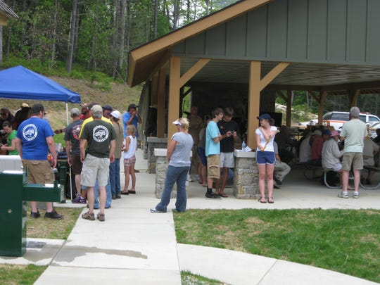 More people than ever visited the rugged, scenic Gorges State Park in Transylvania County last year.