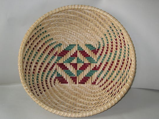 Baskets by Gloria Shird of Sheboygan Falls will be featured at the Alexander House Center for Art and History in Port Edwards this spring.