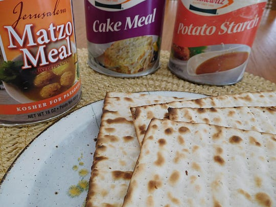 Passover must-haves for the weeklong holiday include plain matzos, matzo meal, matzo cake meal and potato starch.