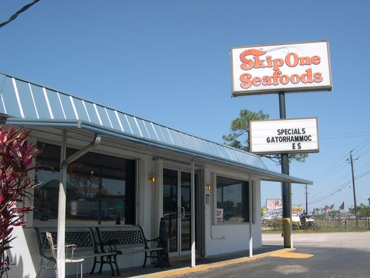 The original Skip One Seafoods remains open on S.
