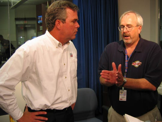 Craig Fugate, director of the Division of Emergency