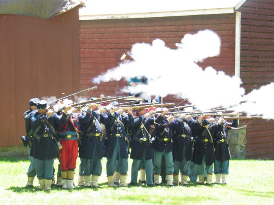 The battlefields of the Civil War will be re-created during a Civil War Weekend, presented by the Second New Jersey Brigade at Historic Speedwell, 333 Speedwell Ave., Morristown
