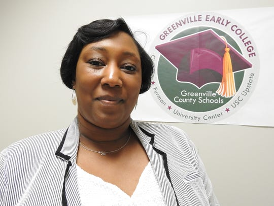 Marjon A. Ford, principal ofGreenville Early College