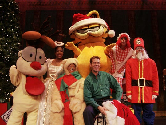 """Garfield Christmas"" is among the many holiday events"