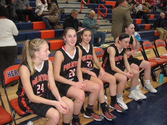 The Palmyra girls have a bright future after a strong 2017-18 season that ended in the second round of states.