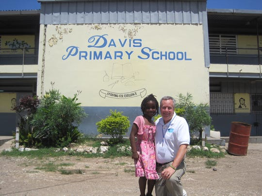 Eight 4 World Hope's biggest success to date: helping expand Davis Primary School, which had been over capacity by 500 children.
