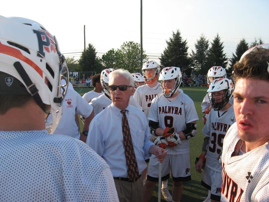 Coach Dave Ondrusek had his team ready to play.