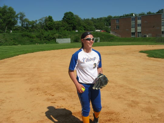 Northern Lebanon senior pitcher Mel Showers threw a perfect game and a no-hitter for the  Vikings this spring.