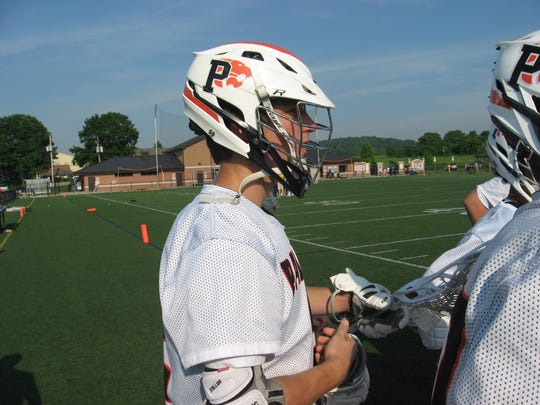 Penn State-bound Grant Haus withstood heavy defensive pressure in Palmyra's state playoff win.