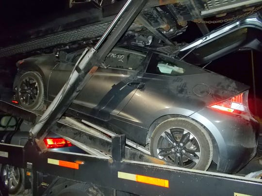 The black Honda CRZ that concealed over $1M in heroin