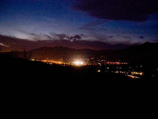 Night Glow of Ojai Valley