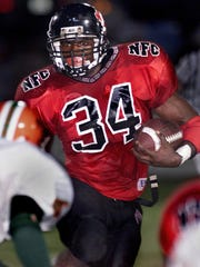 Ernie Sims was a two-time All-Big Bend Player of the Year for the North Florida Christian Eagles.