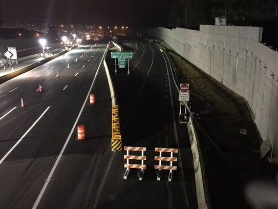 Work continues in South Nyack as workers complete the