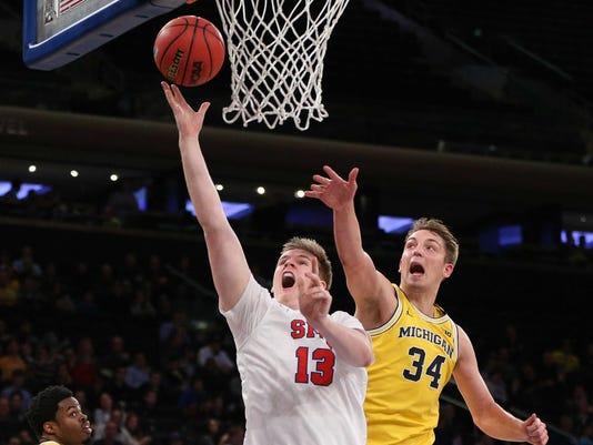 NCAA Basketball: 2K Classic-Michigan vs Southern Methodist