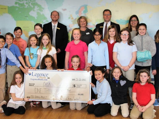 Business Lessons– The Evansville Day School 4th graders