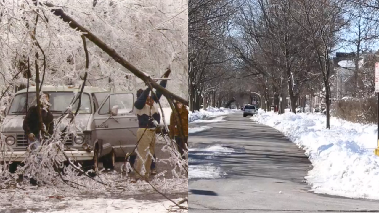 Then and now: Returning to iconic scenes from 1991 Ice Storm