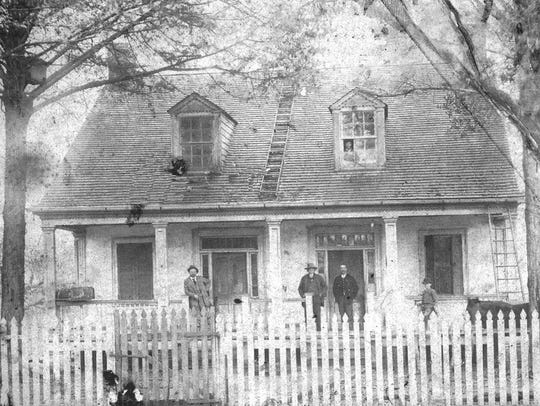 Ray Homestead taken in the early 1900s.