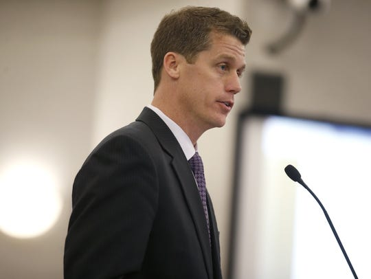 Chad Poppell, secretary of the Florida Department of Children and Families.