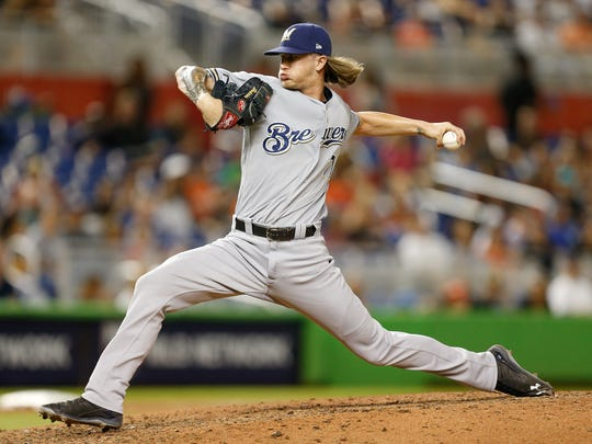 Josh Hader, who leads all major league relievers in strikeouts this season with 89, hails from Millersville, Md., which is close to the site of this year's All-Star Game in Washington, D.C.