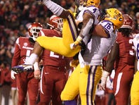 To score or not to score, that is the question LSU's Nick Brossette has been answering