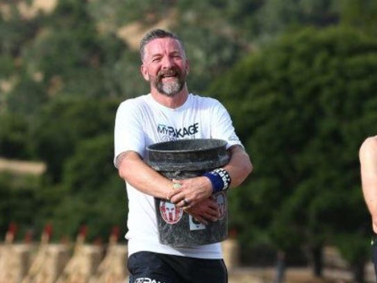 Some of the challenges along the Spartan Race course
